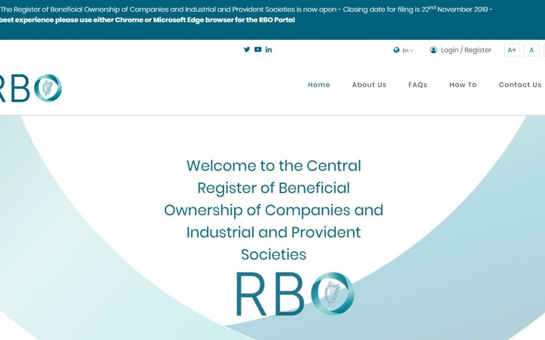 The New Central Register of Beneficial Ownership